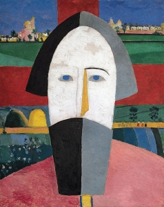 Kazimir Malevich, Head of a Peasant (1929)